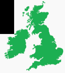 Outline of UK and Ireland